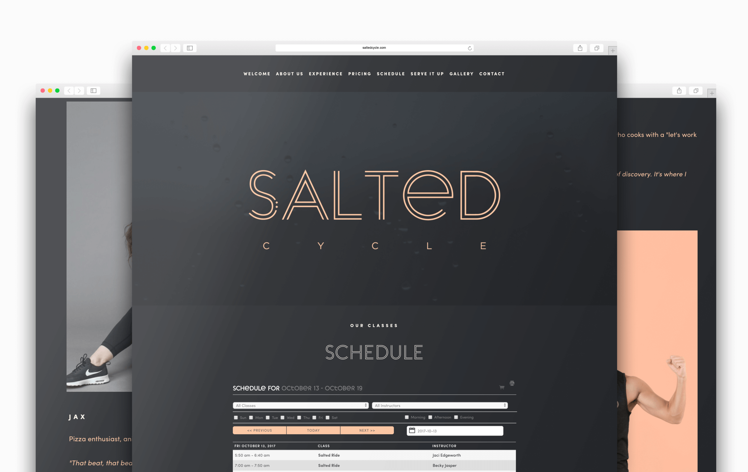 Millie_SaltedCycle_WebsiteDesign_3PageSample