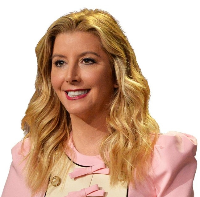 Sara Blakely   In 2012, Sara was named the world's youngest, self-made female billionaire by  Forbes Magazine  and was one of TIME's 100 Most Influential People. Sara Blakely founded Spanx with a simple goal in mind, to find something to wear under white pants to make them more flattering. And after some creativity with scissors, Spanx is an incredibly successful business.