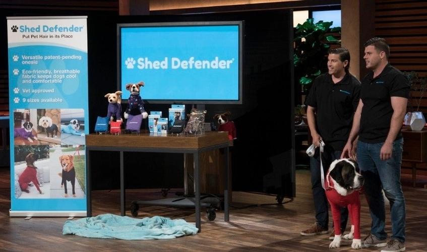 shark tank shed defender dogs