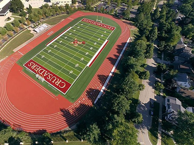 Edgewood wants to hold games with lights and amplification on its athletic field. /Rettler Corporation