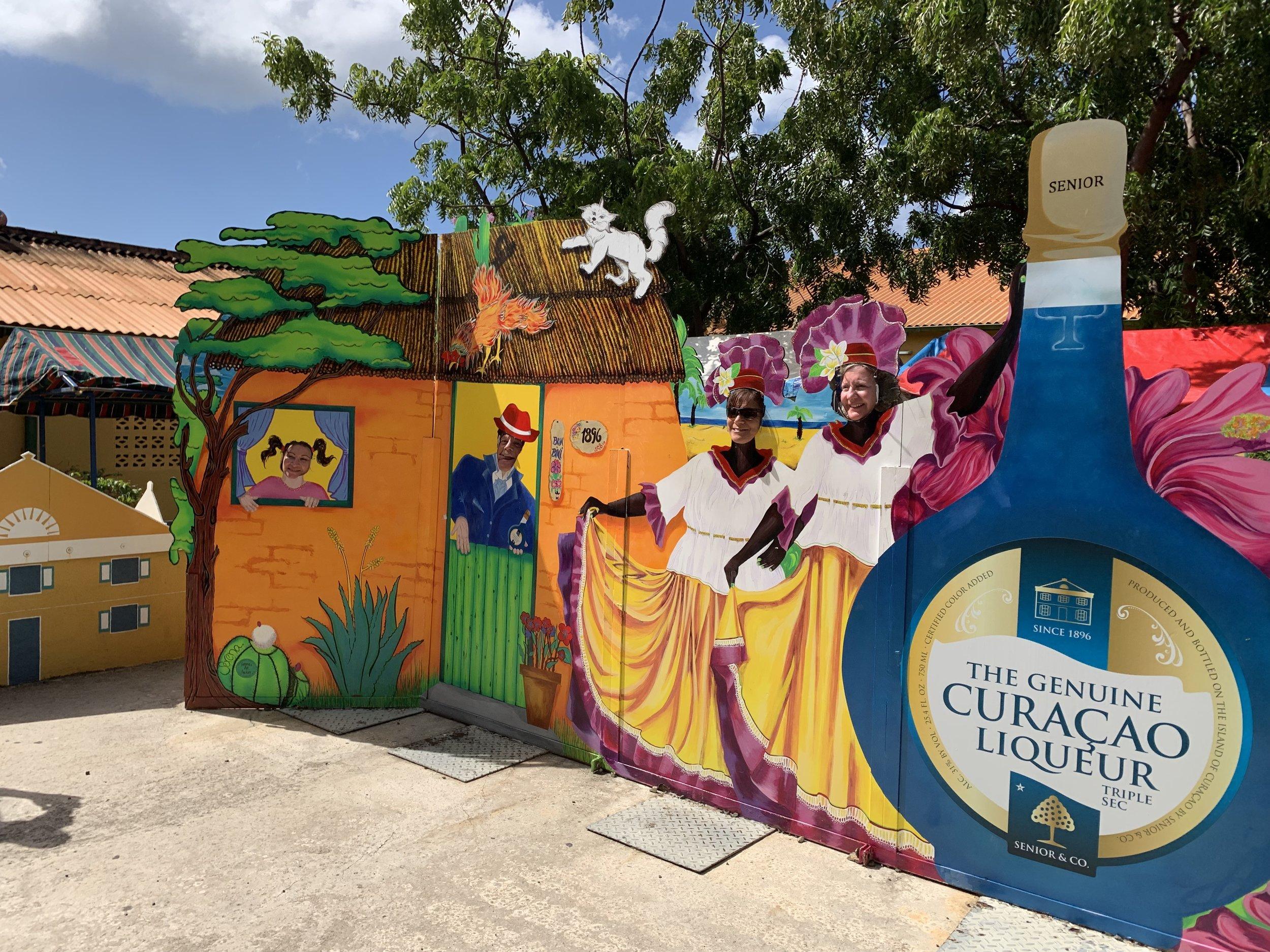 Blue Curacao Entrance