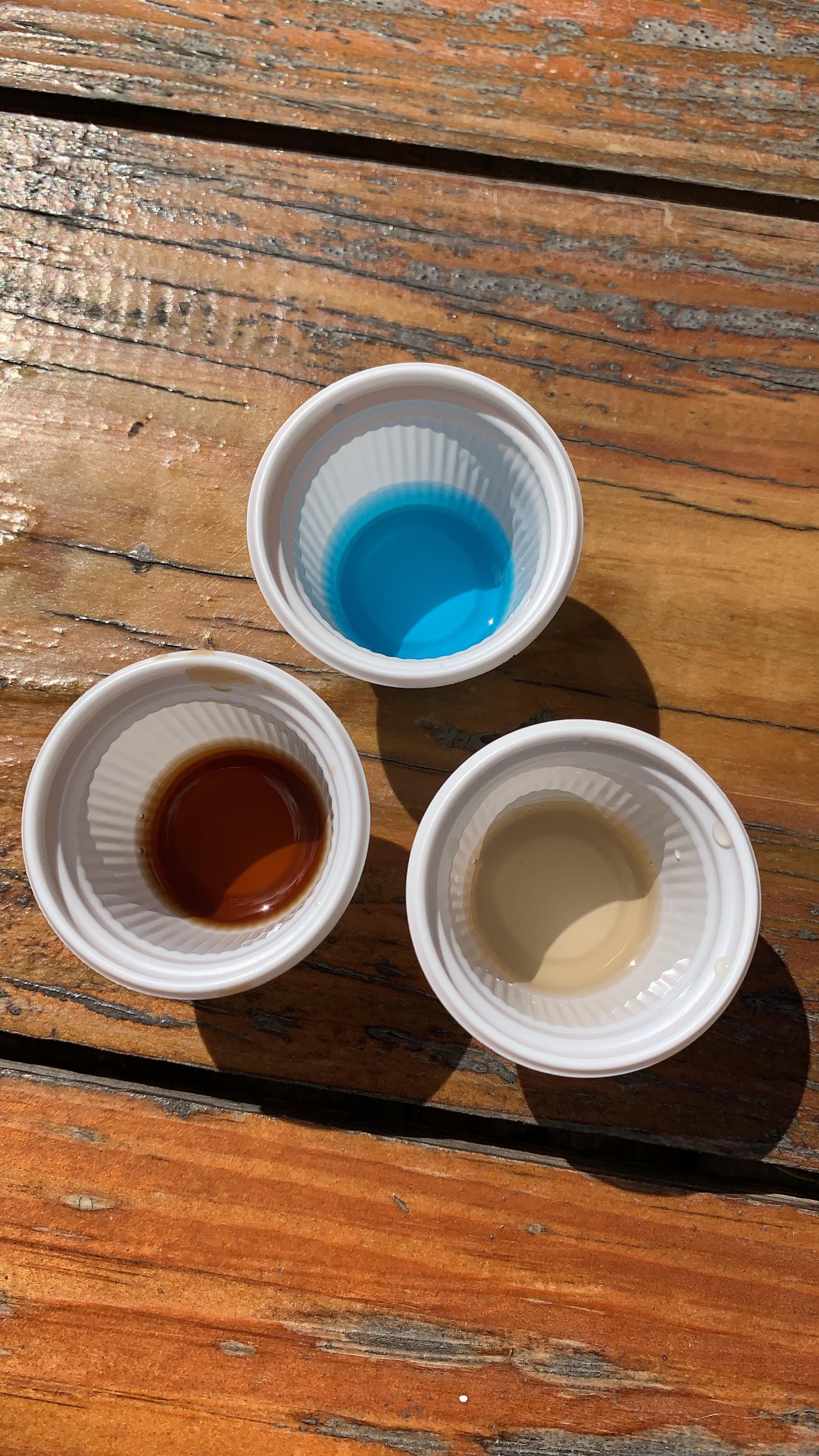 Blue Curacao Tasting