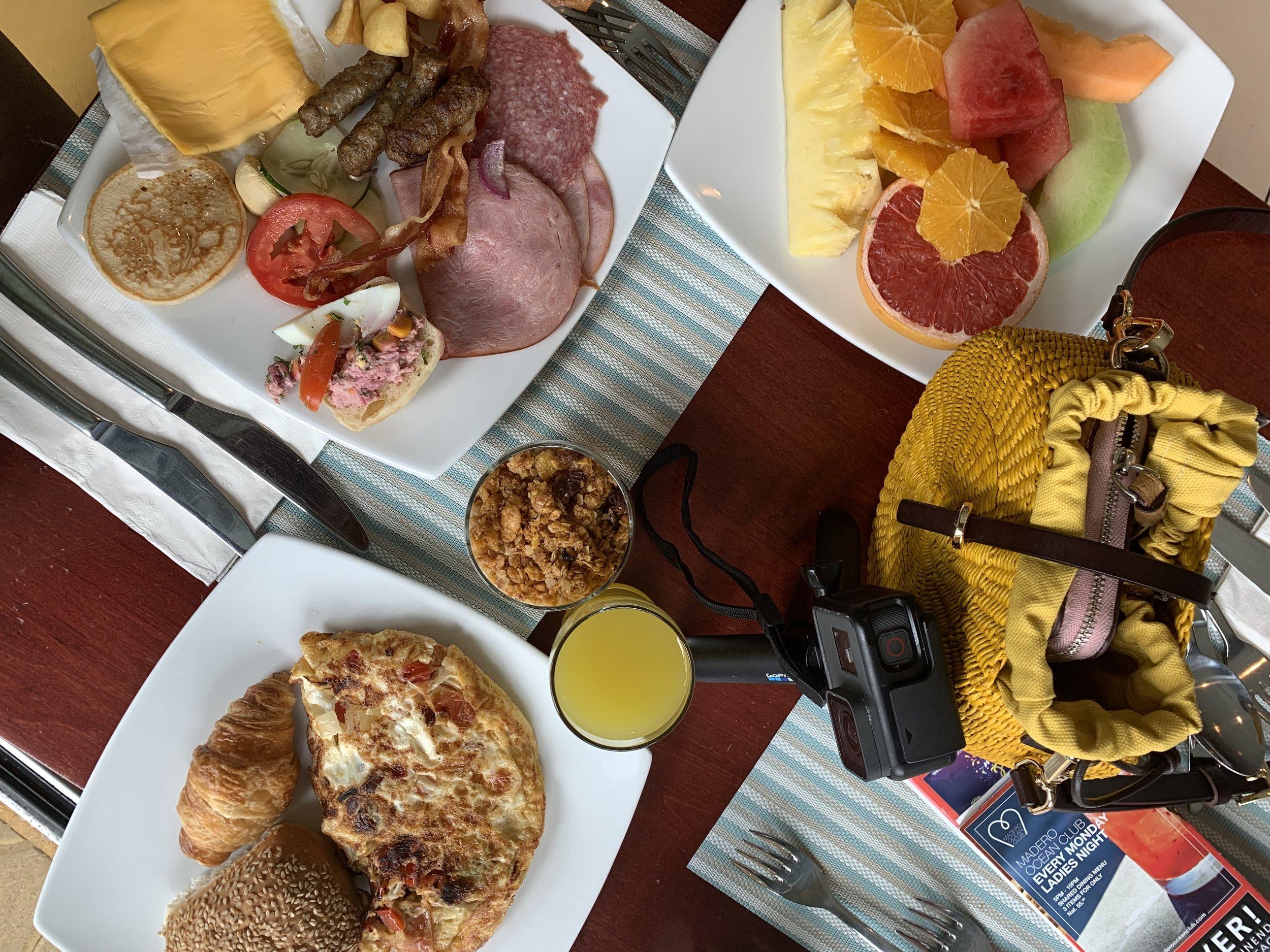 Renaissance Curacao Breakfast