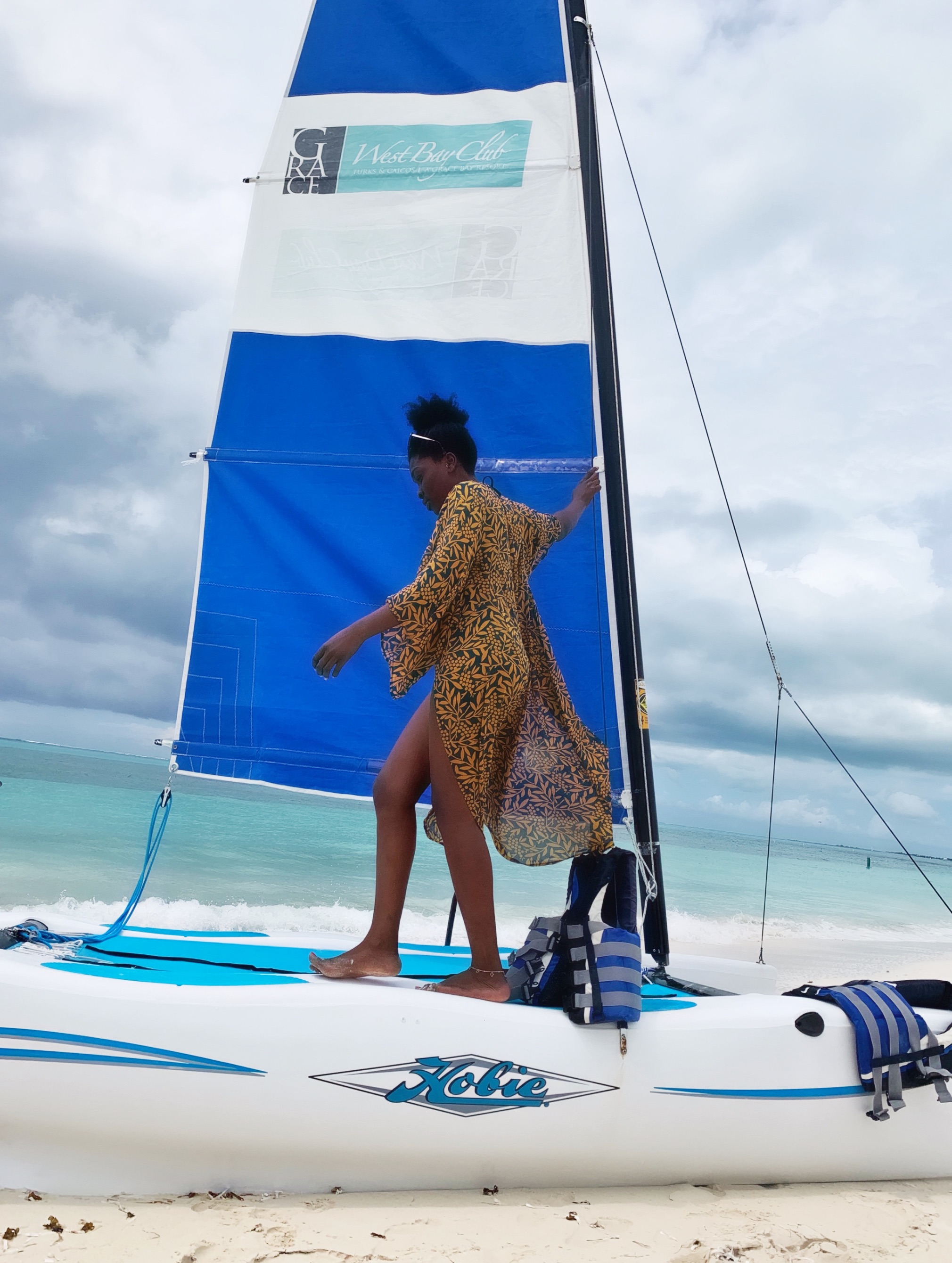 Non motorized watersports at West Bay Club.JPG