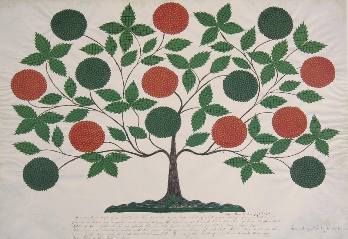 Hannah Cohoon,  Tree of Life , 1854