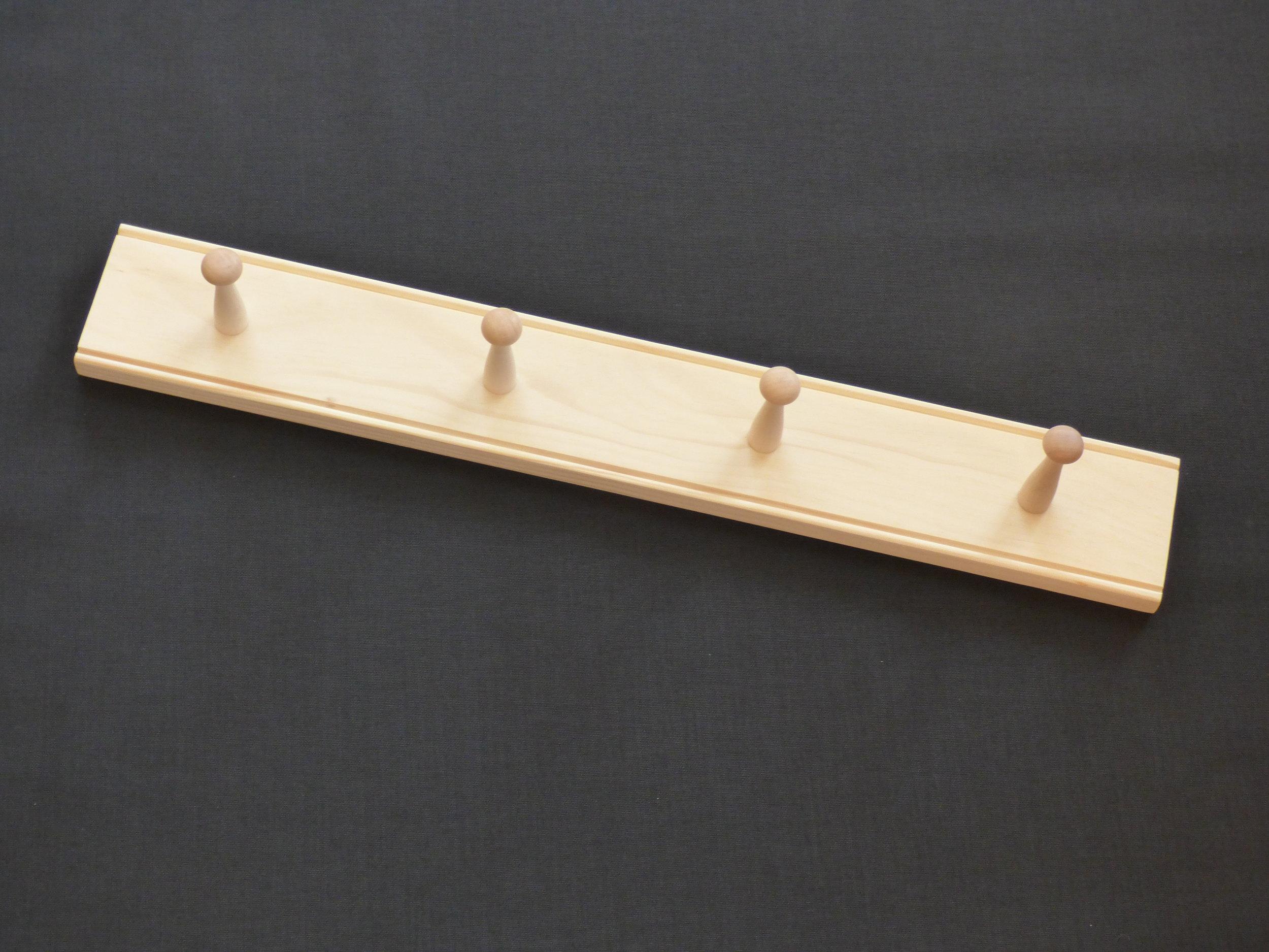 2' pine rail