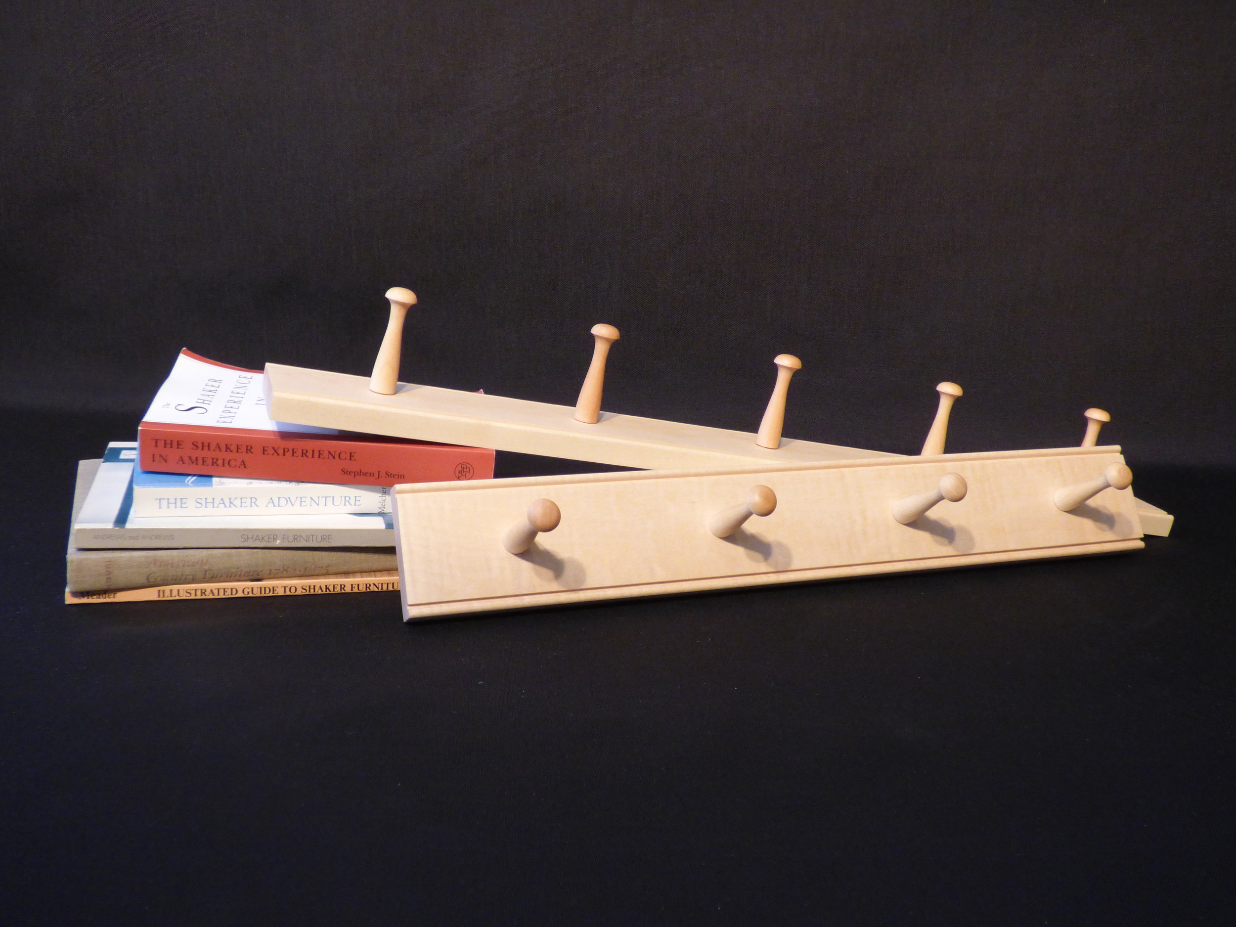 2' and 2.5' maple rails
