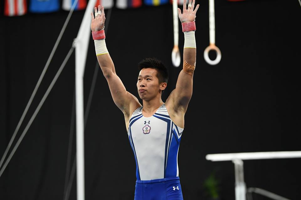 Lee Chih-Kai (TPE) won the men's pommel horse title in Melbourne. Photo: World Cup Melbourne.