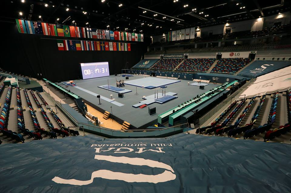 The National Gymnastics Arena in Baku. Photo: Azerbaijan Gymnastics Federation.