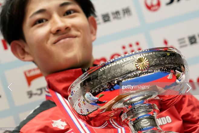Kakeru Tanigawa earned his second Japanese at