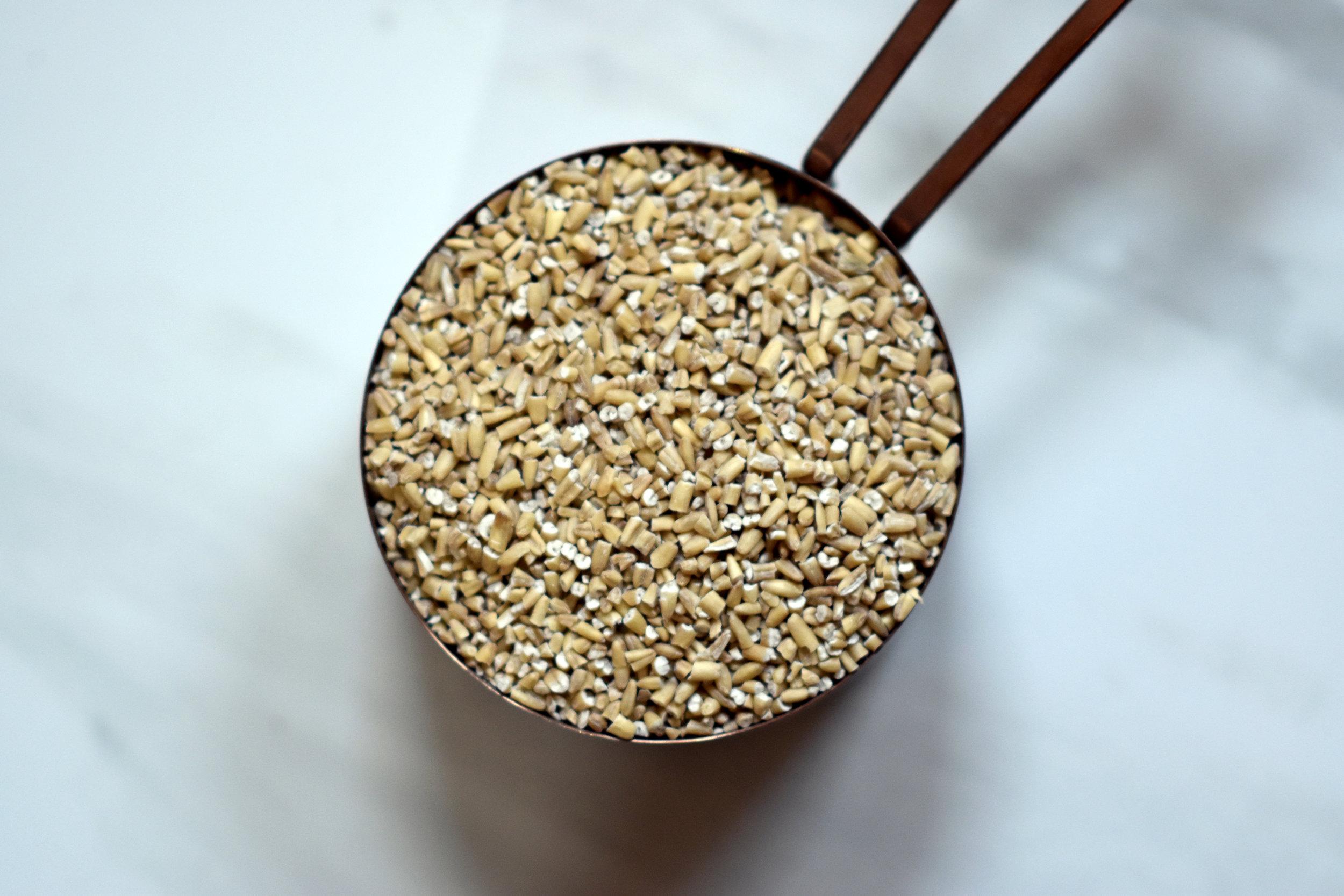 raw steel cut oats - because i love oats, my heart & marketing tricks