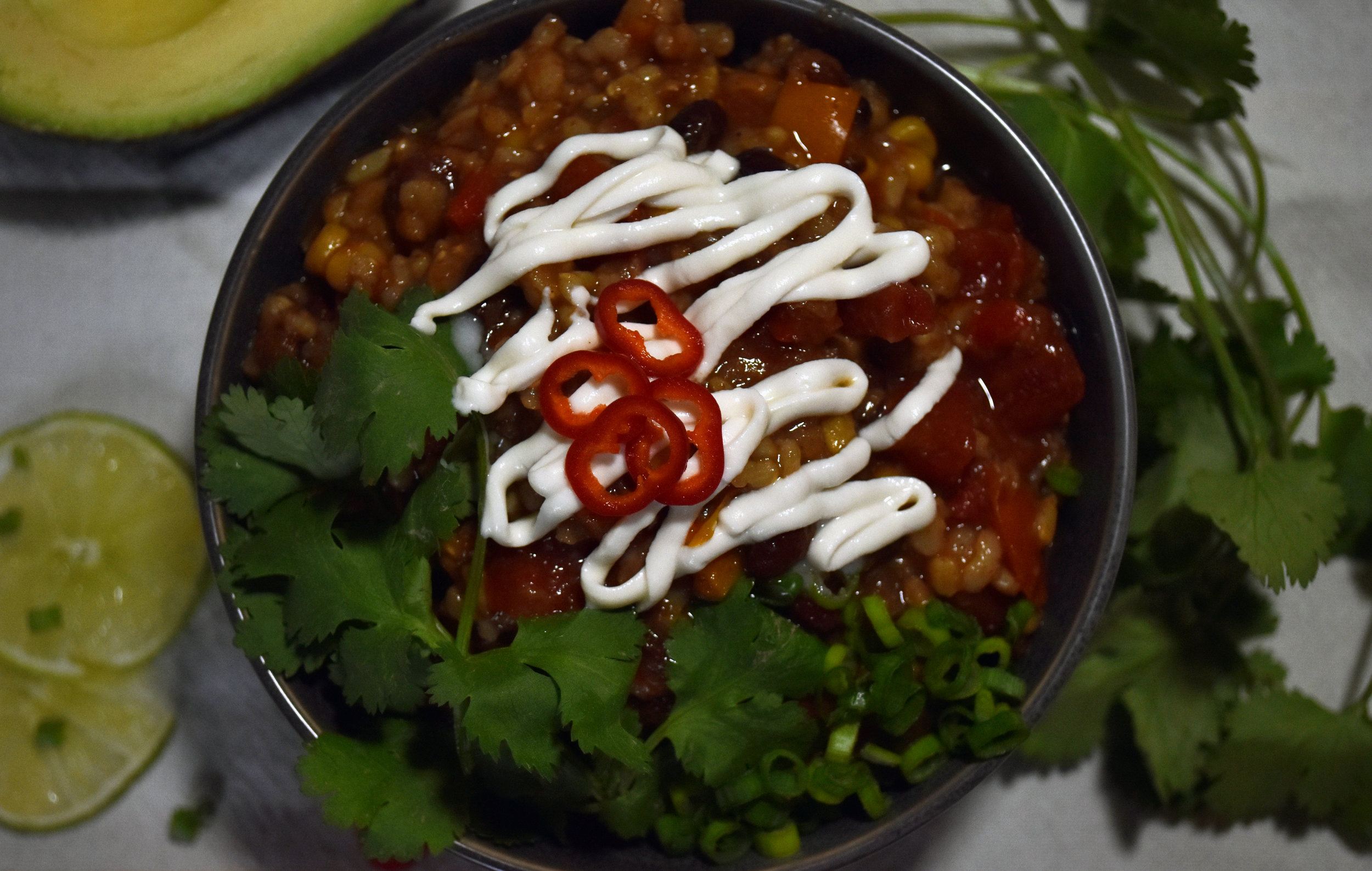 and all the yum - vegan mexican rice casserole in an instantpot