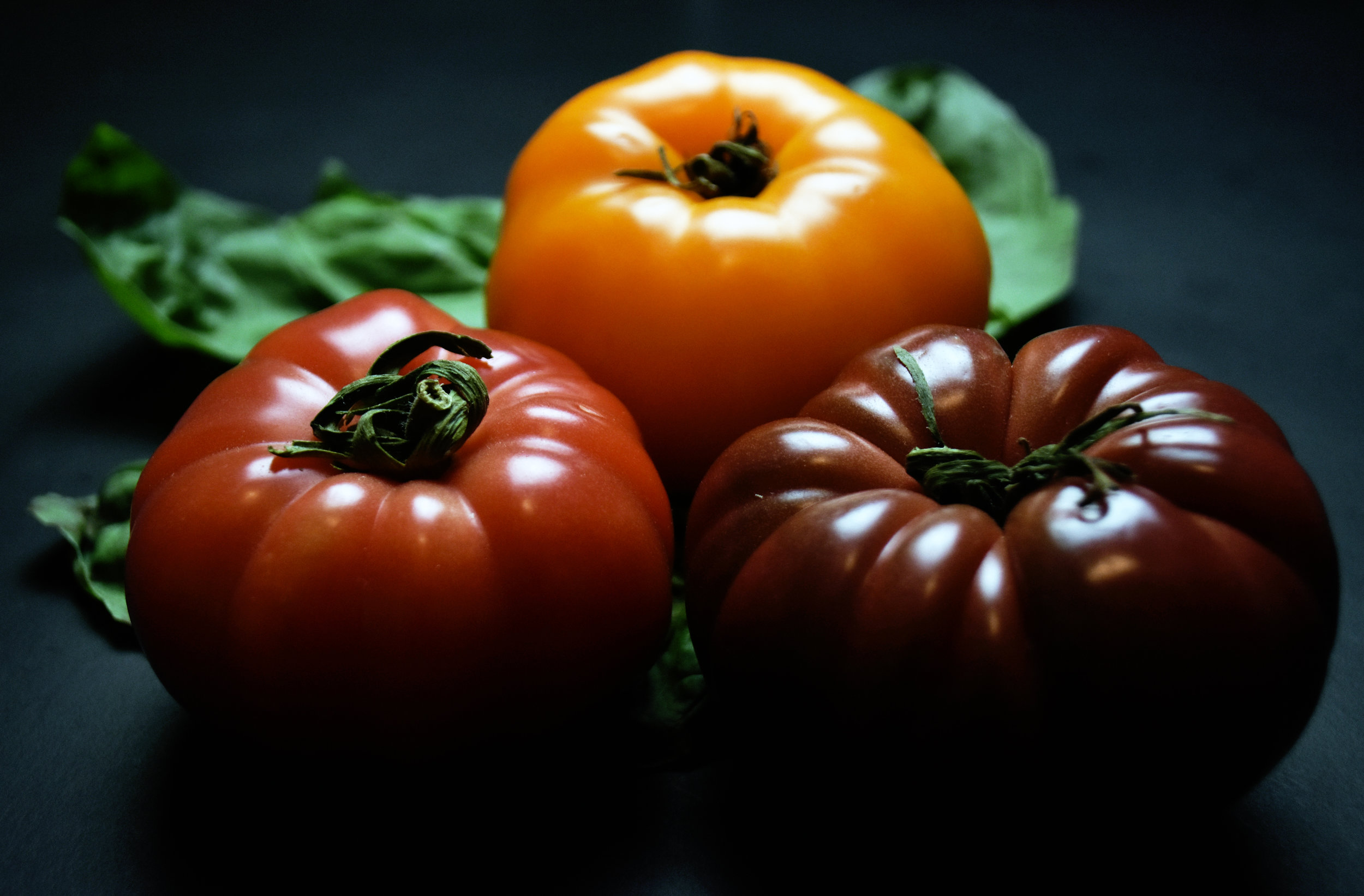 heirloom tomatoes - summer's best emblem