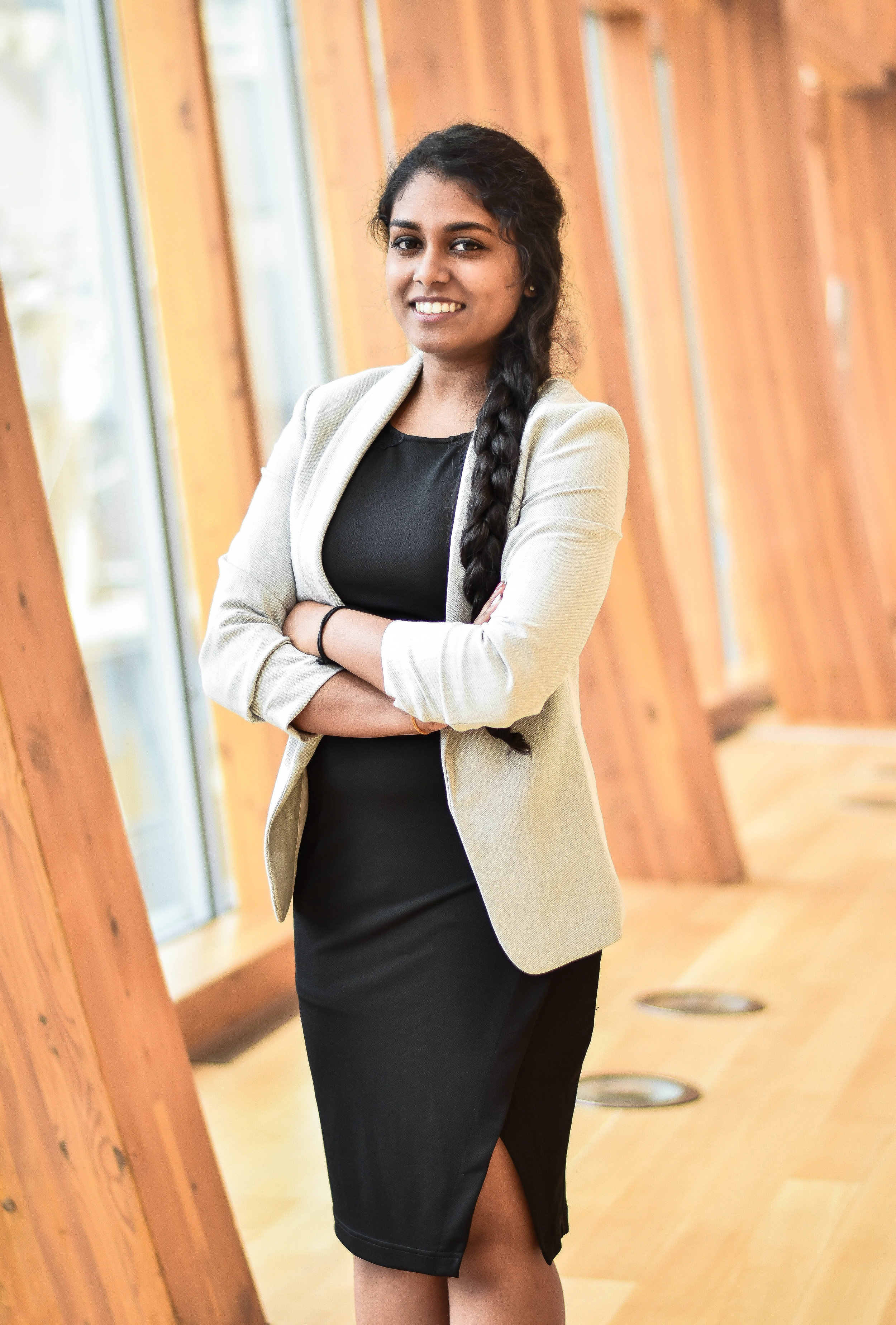 Jathavi Shanmuganantham - Vice President of Corporate RelationsJathavi is a third year BTM Co-op student, minoring in Music and Culture. During her time at Ryerson, Jathavi hopes to make a positive change in the students' lives by mentoring them and providing them with opportunities to connect with the corporate world through WITM!