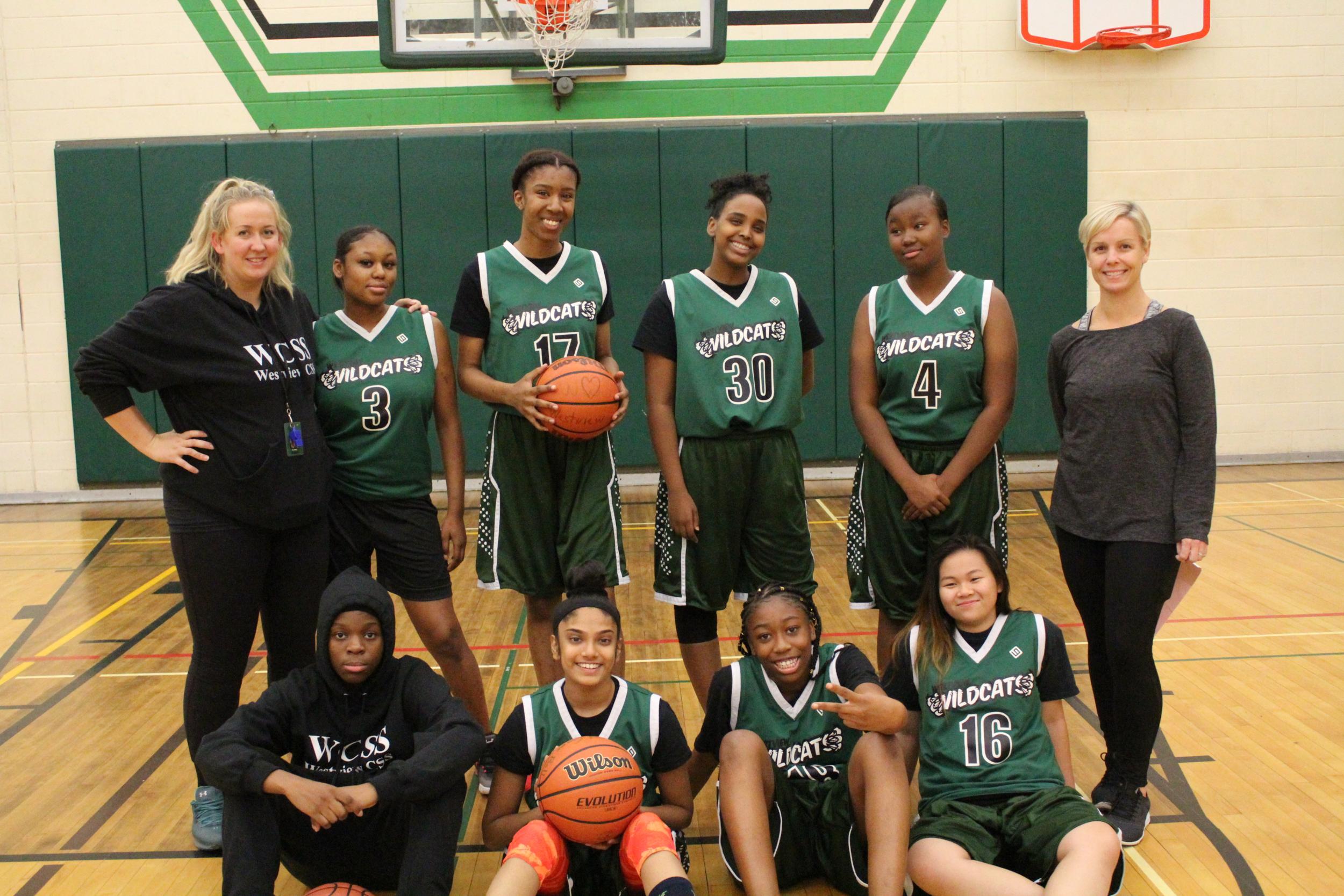 Westview Centennial S.S. Girls Varsity Basketball Team