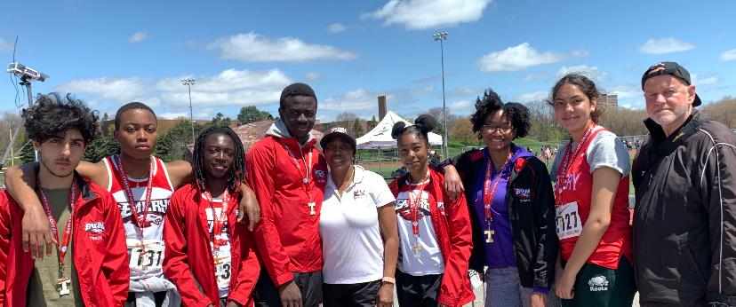 Emery's Dedicated Track & Field Team at OFSAA's All Ontario Tournament in Guelph, ON.