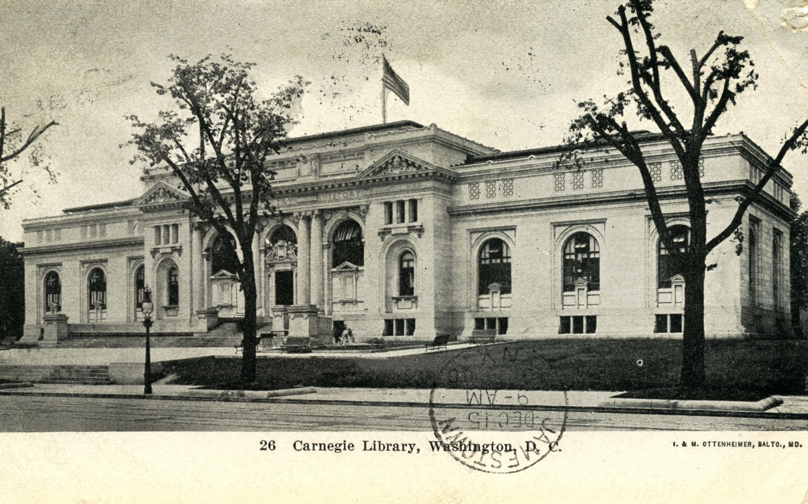 In 1899, philanthropist and library enthusiast Andrew Carnegie donated funds to build the Central Library at Mount Vernon Square.
