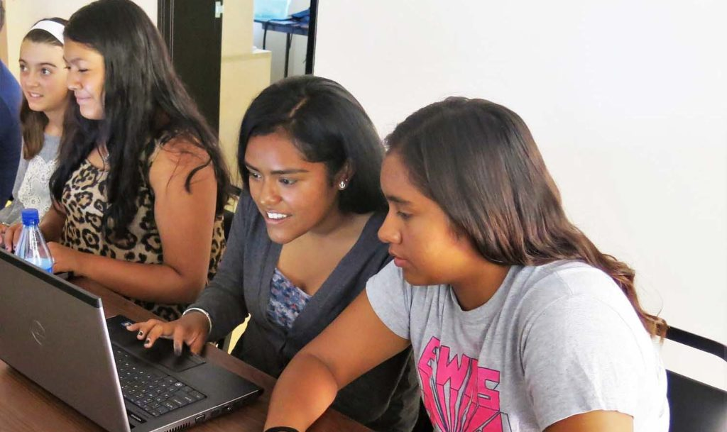 What We Do - Using computer programming and IoT curriculum, we partner with schools, businesses, and nonprofits to help students develop essential critical thinking and problem-solving skills.