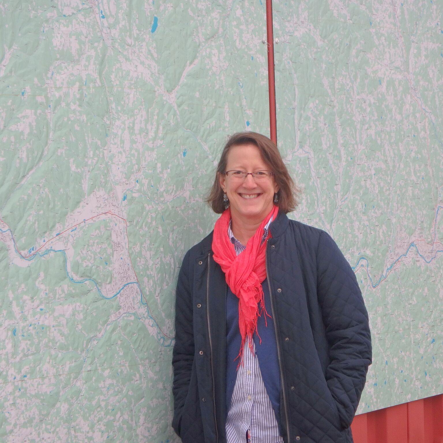 Diana Sinton, Mapmaker, GIS Expert, Un iversity Consortium of Geospatial Information Science coordinator