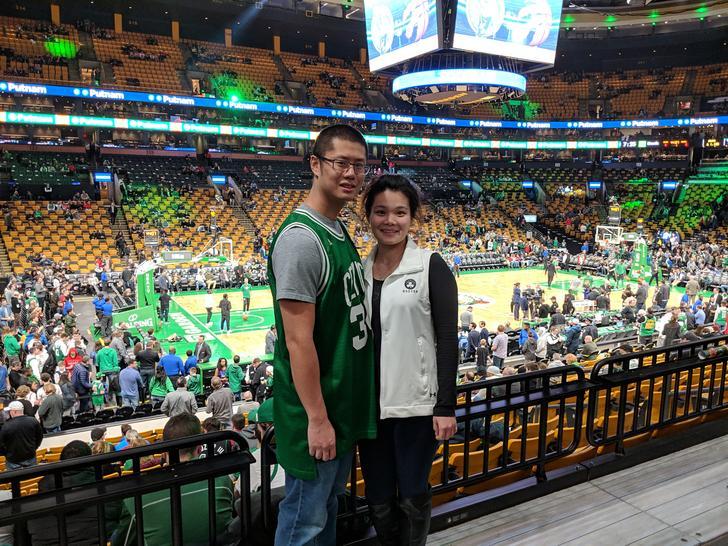 Celtics vs Raptors game, January 16, 2019. #celticsstrong