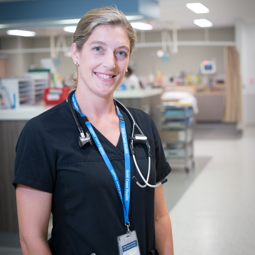 Dr Katie Gallop  Emergency Physician, Gold Coast Health Service