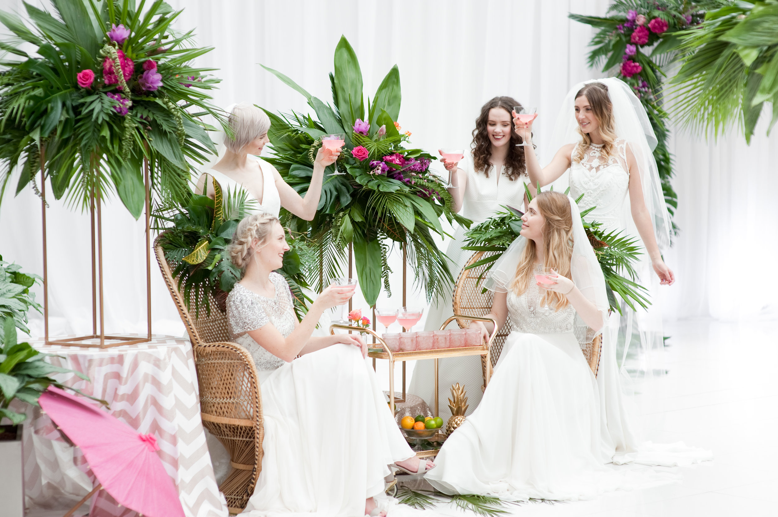 The Prosecco Parlour - Grab your #bridetribe and sip, sip hooray!