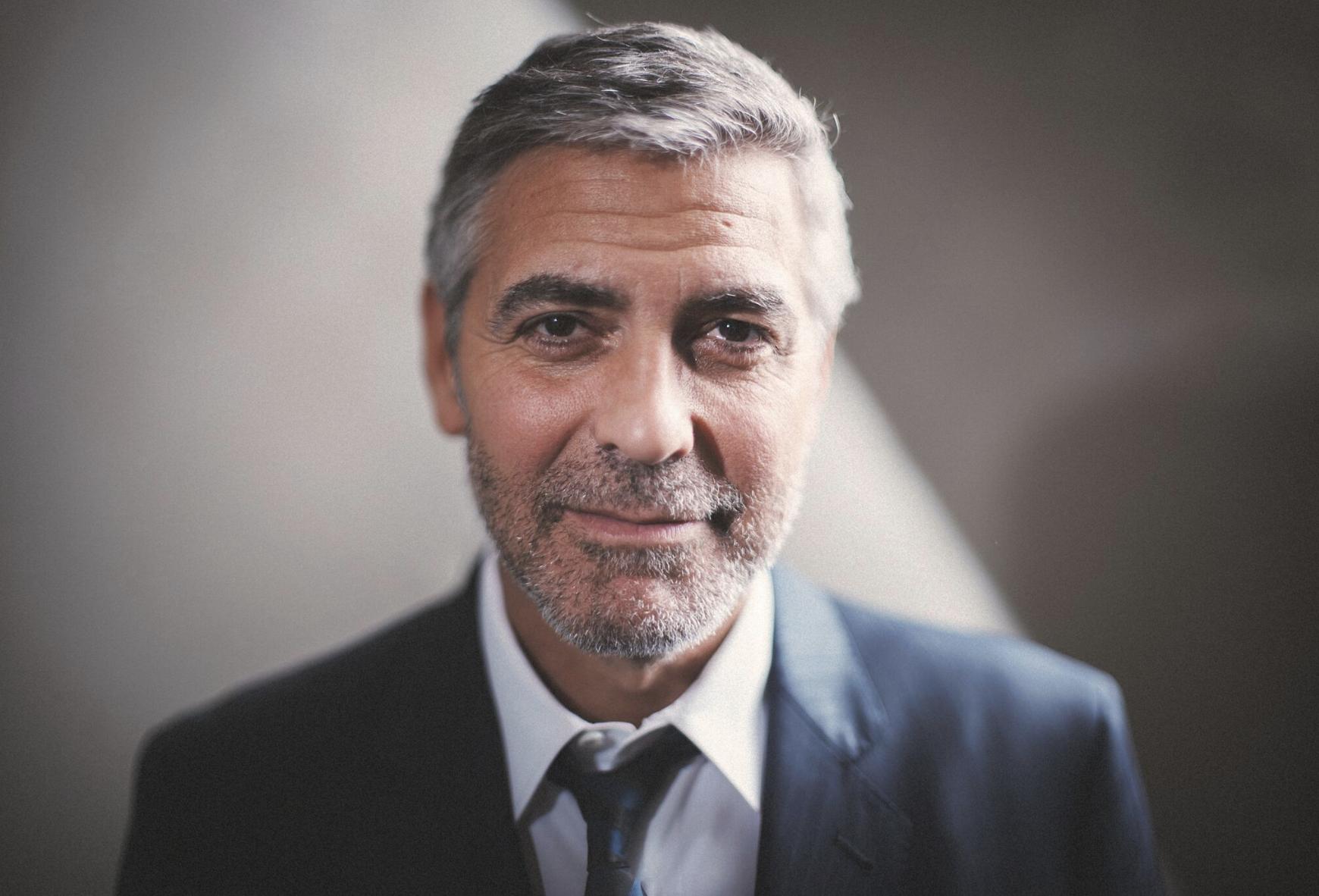 George Clooney by Sam Hurd