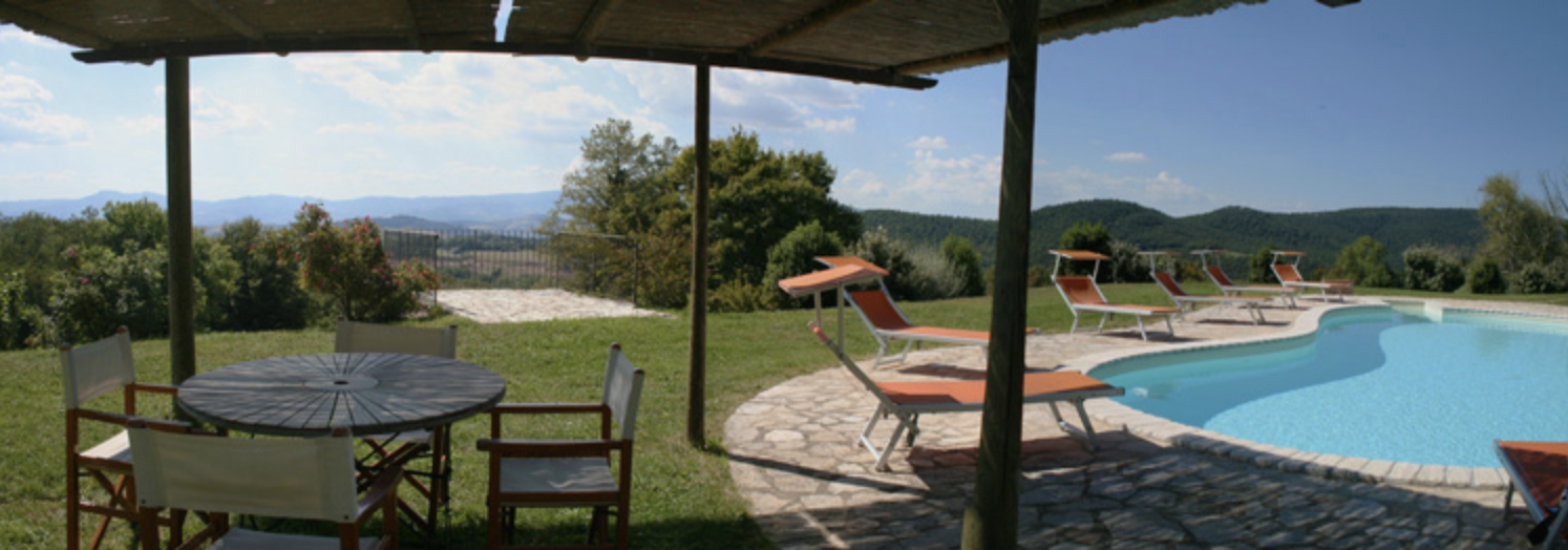 Vetrica - heated swimming pool, pizza oven and dining area