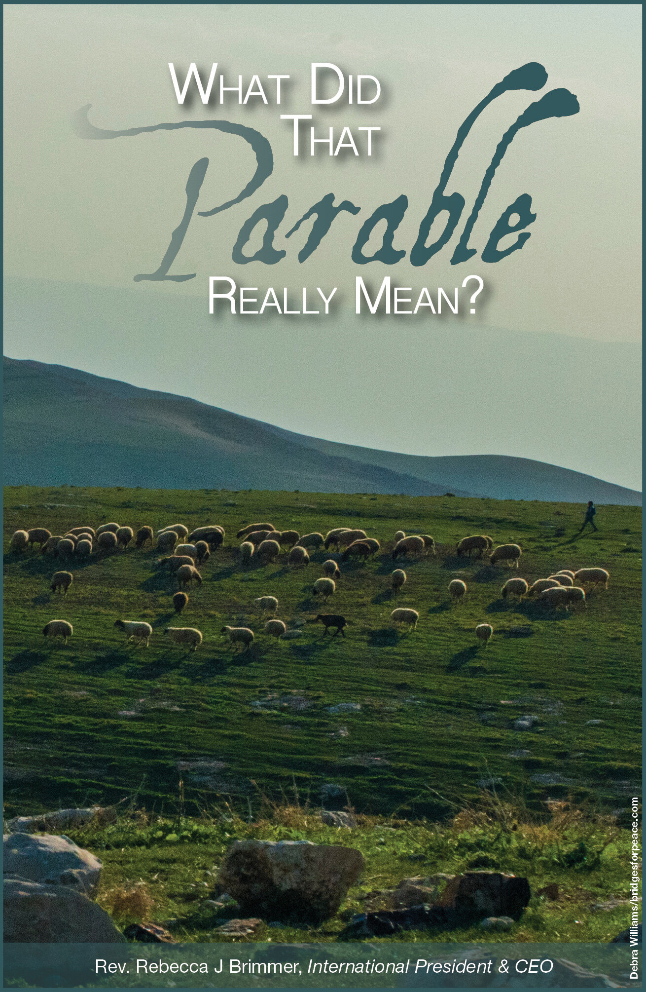 """Generally, when we think of parables we think of Yeshua's use of them. However, He did not invent the parable. It was a communication tool used by other rabbis of the era. In Hebrew it is called a  mashal  and can mean proverbs, fictional stories, poems, fables, riddles or allegories. David Stern, an authority on rabbinic parables says, """"above all else, the  mashal  represents the greatest effort to imagine God in all rabbinic literature."""""""