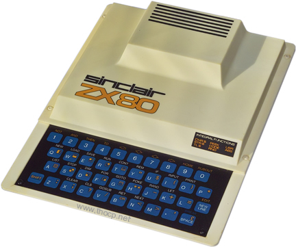 ZX80. Source: https://commons.wikimedia.org/wiki/File:Sinclair_ZX80_computer.jpg