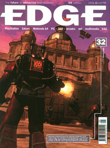 """""""Dreadnought made the cover of Edge (May, 1996), and neared completion, but was never released due to organisational restructuring when Infogrammes bought Ocean. """""""