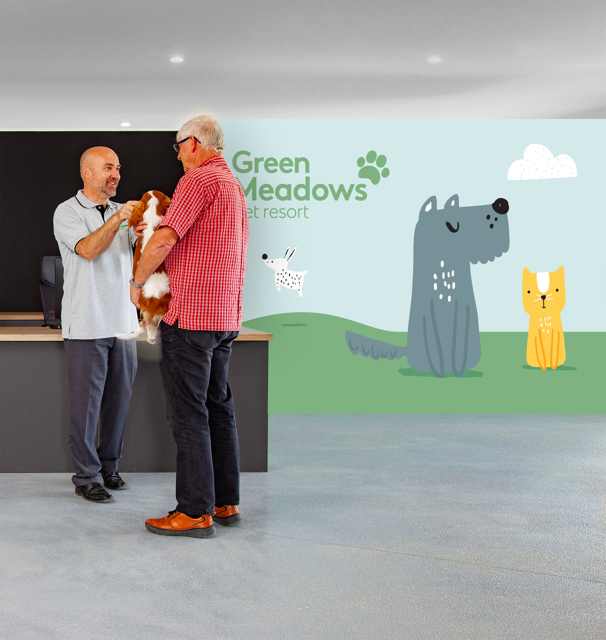 Green Meadows Pet Resort Reception