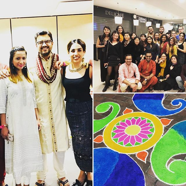 #india came alive on the festival of #diwali last night @ #essec. Congrats to the students and to @essecinde for this special night !