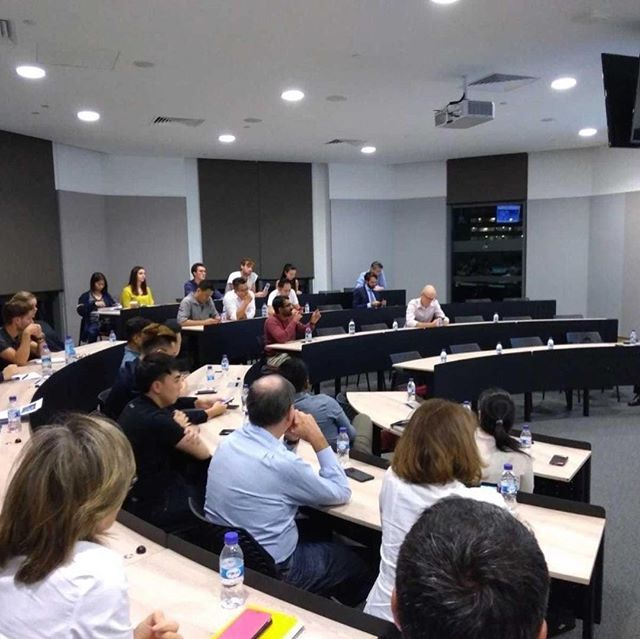 """#ESSECAlumni hosted a round-table session that showcases """"The Unexpected Uses of #Blockchain"""" as well as the inclusion of current issues in #Education, #Agriculture and #HumanResources. #essecasiapacific"""