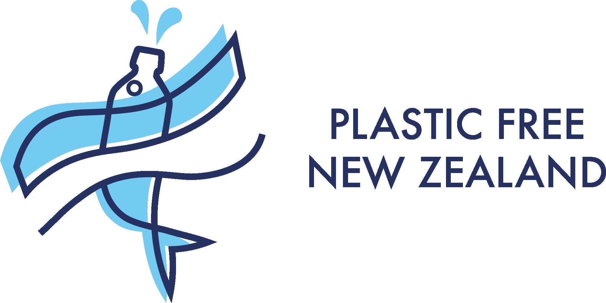 Plastic Free New Zealand Logo, 2017