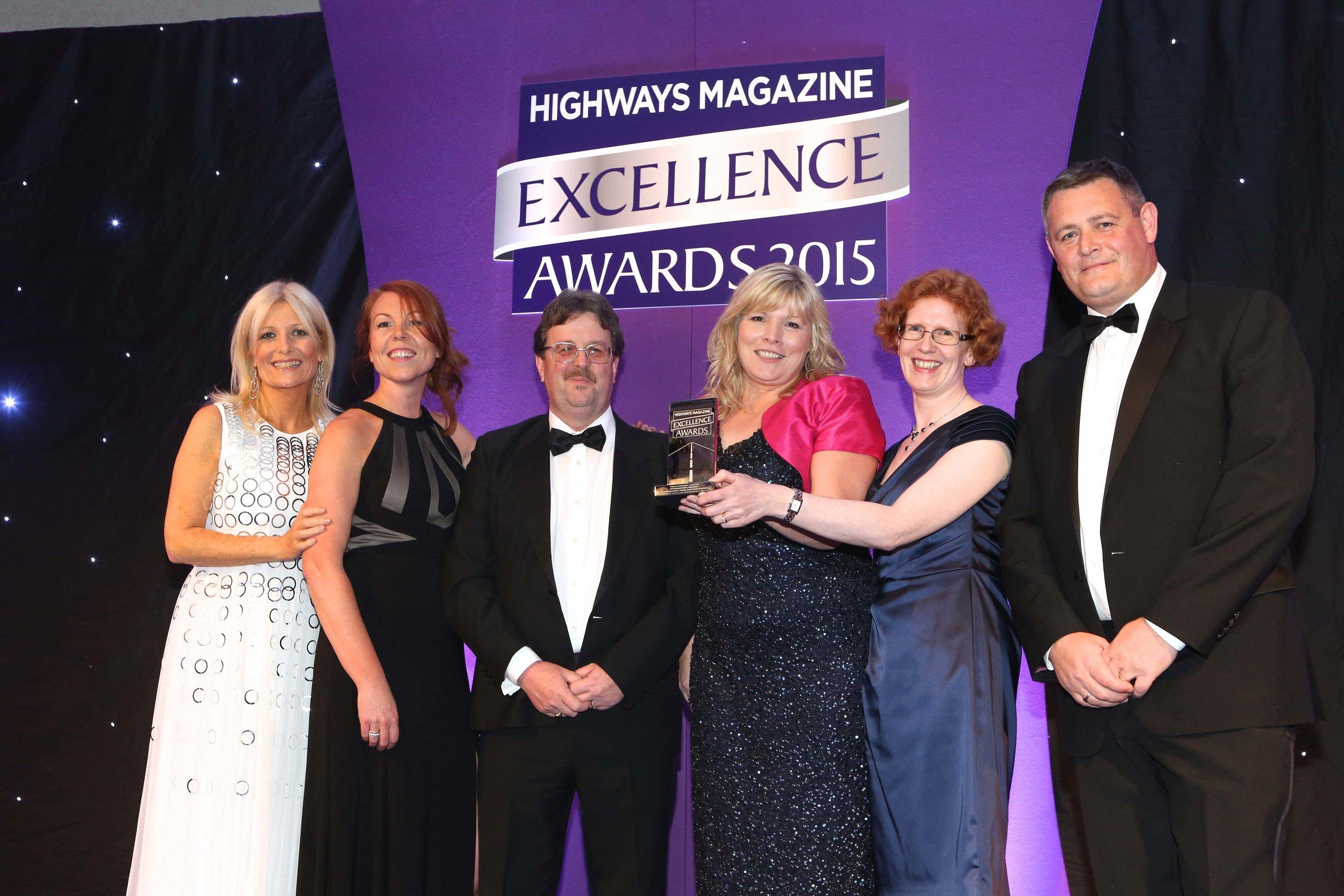 Highway mag partnership award 2015.jpg