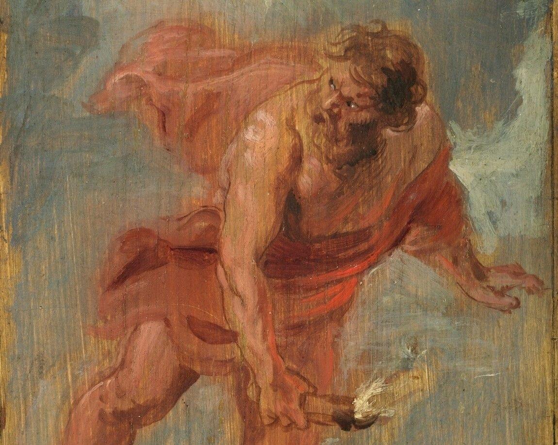 Prometeo , de Rubens.