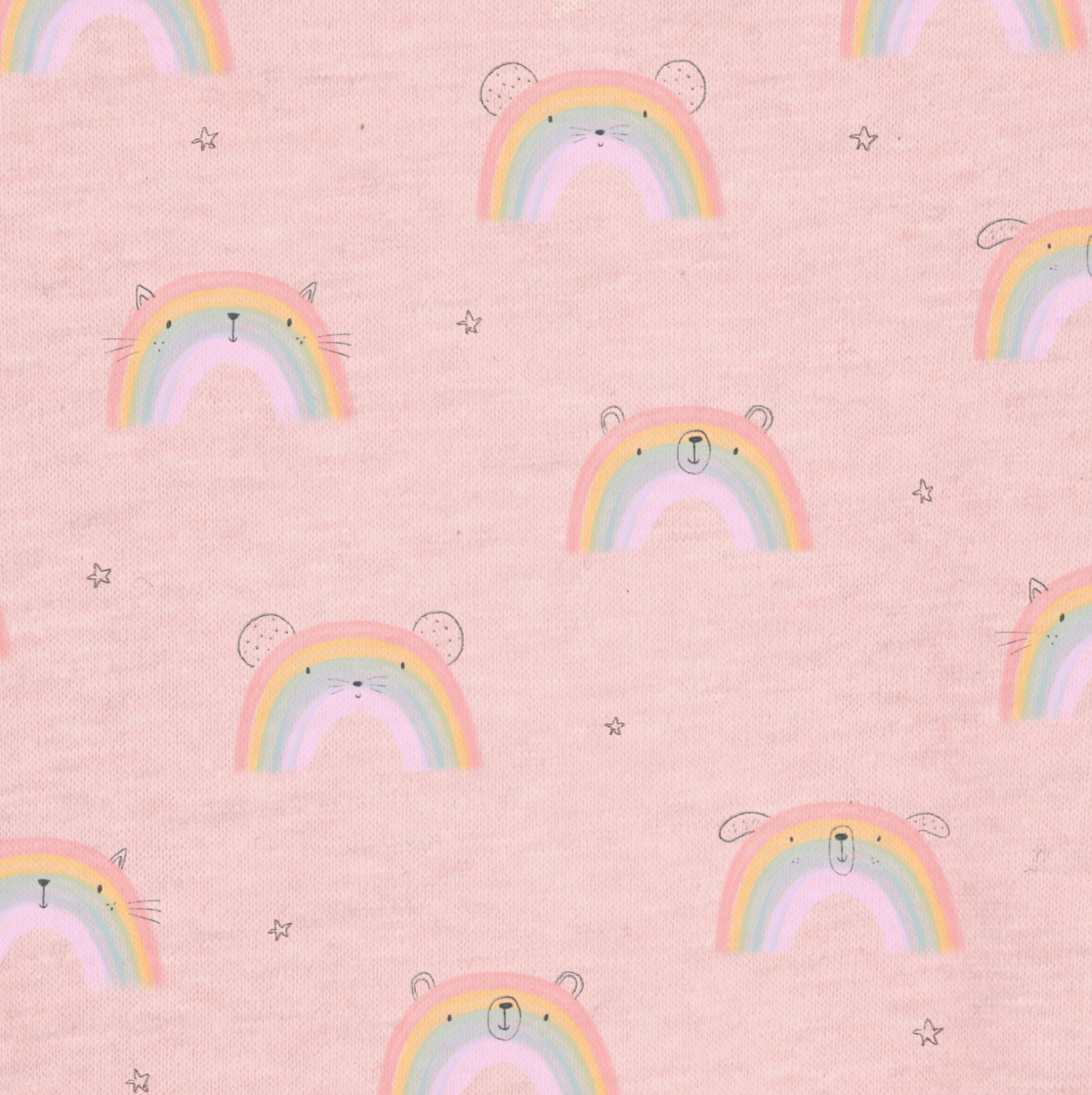 A new little rainbow print, I think this would look so cute on some pyjamas! If you like what you see, this pattern is available for licensing. Drop me an email at bethillustrates@gmail.com and let's chat!