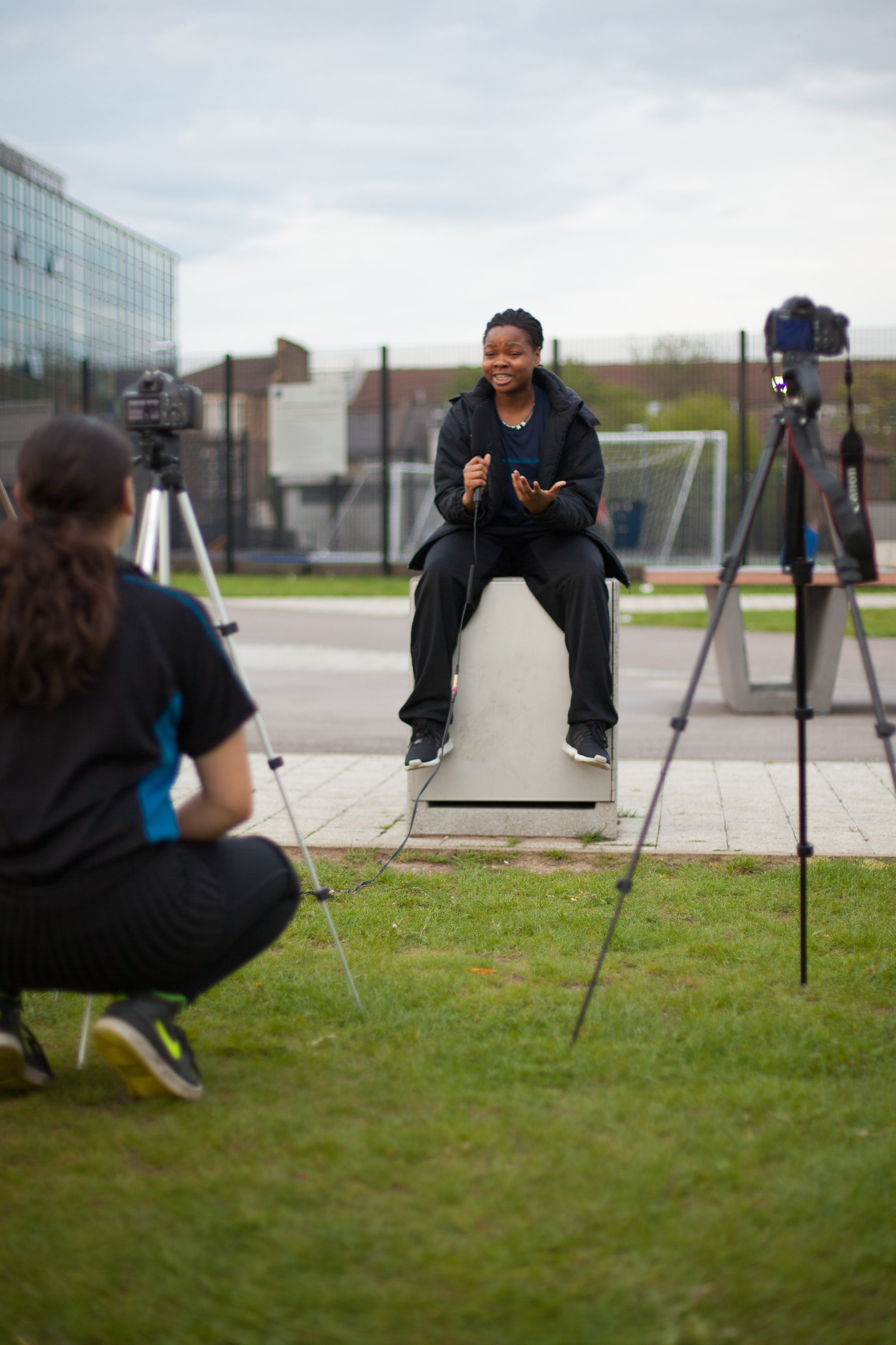 Filming 'This is What a Footballer Looks Like' Documentary with Hackney Laces