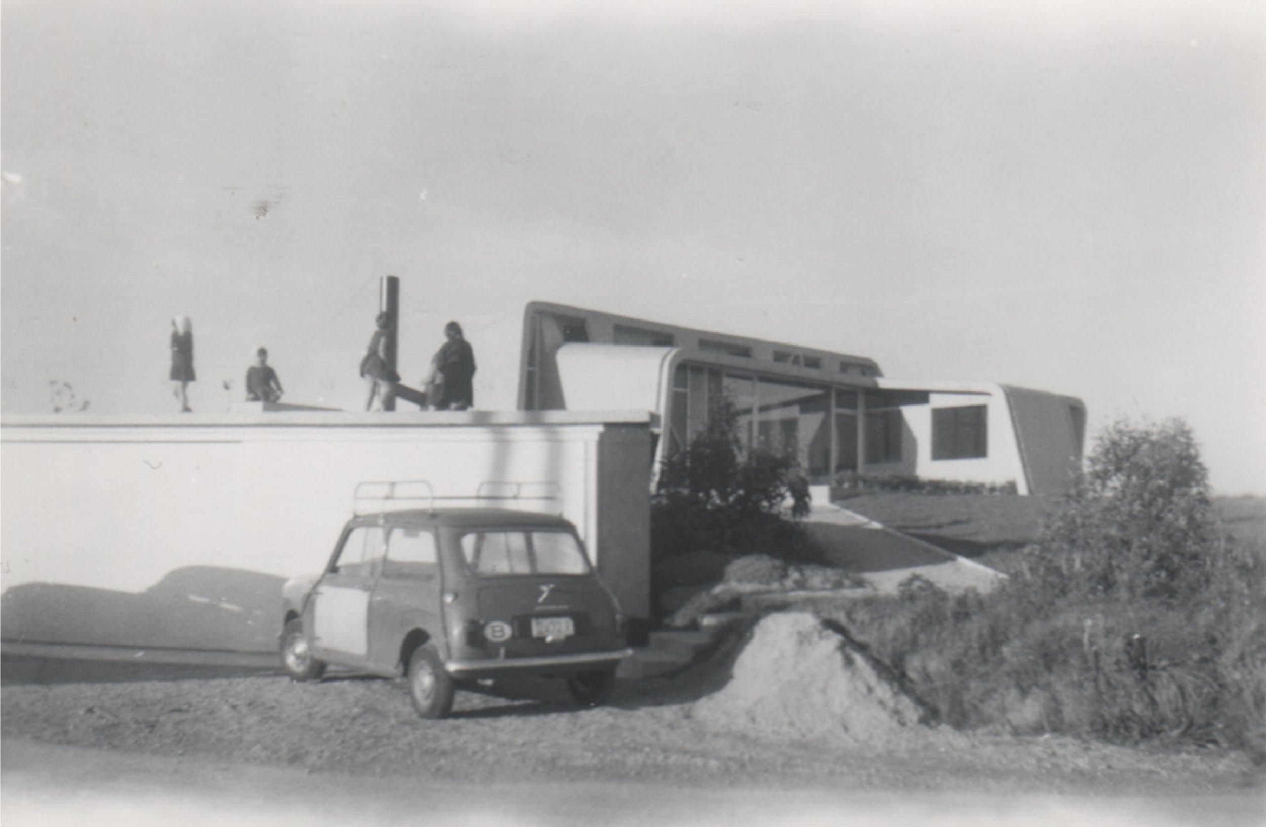 Woning Roelants, 1962.