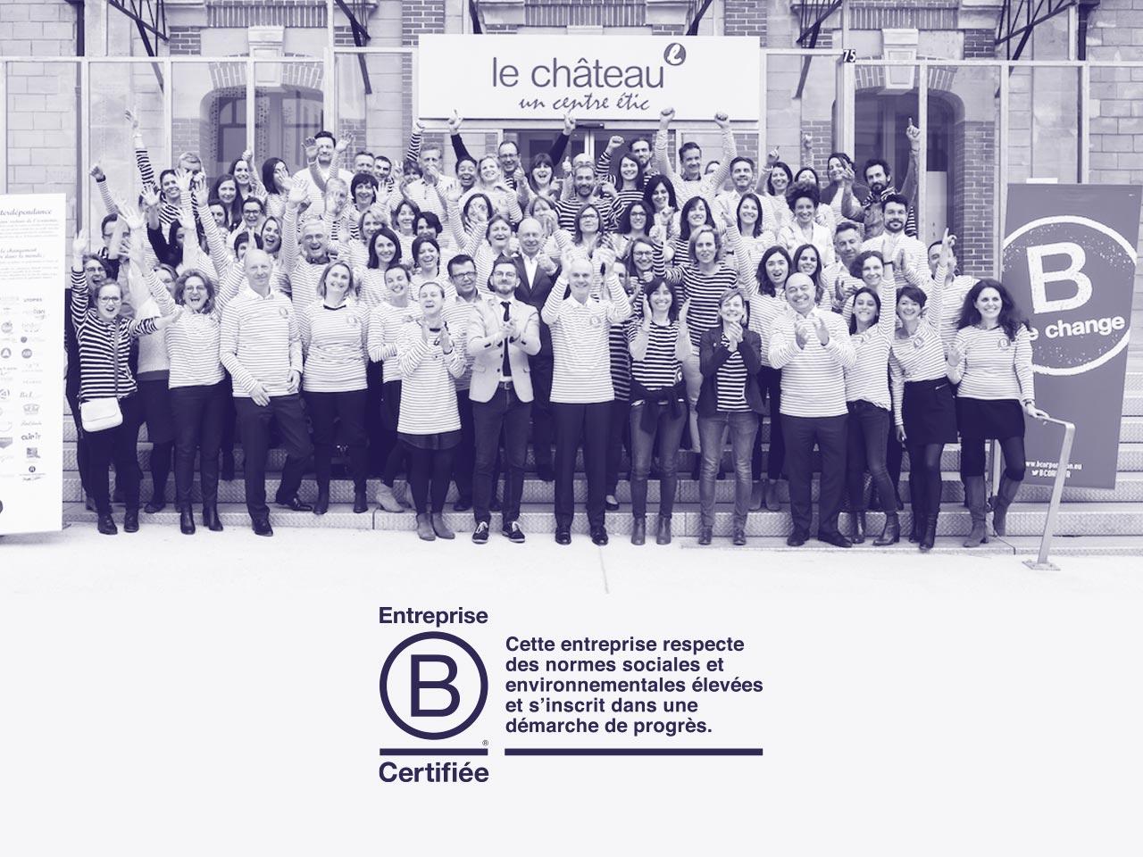 B Corp - La communauté française grandit vite : elle compte plus de 50 entreprises début 2018, sans compter les dizaines d'entreprises en cours de certification.+ d'infos sur B Corp →