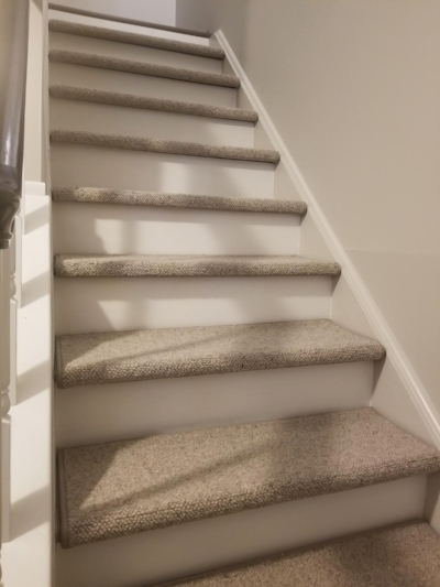 Another view of Don & Mickie's newly installed stairs