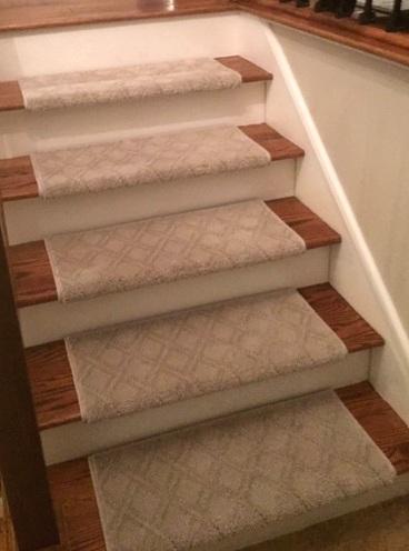 Tara's New Carpet Stair Treads…