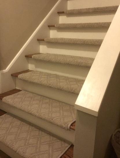 More of Tara's New Carpet Stair Treads…