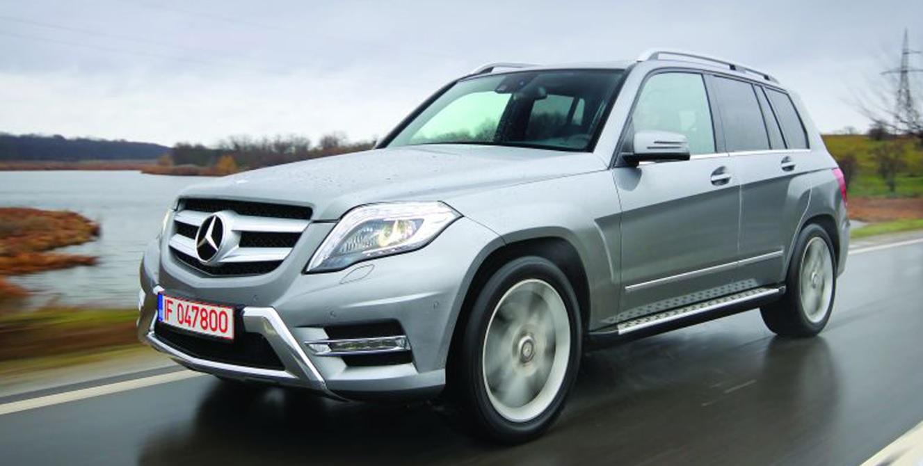 Image: Mercedes Benz GLK 220 CDI 4Matic: Urban Design