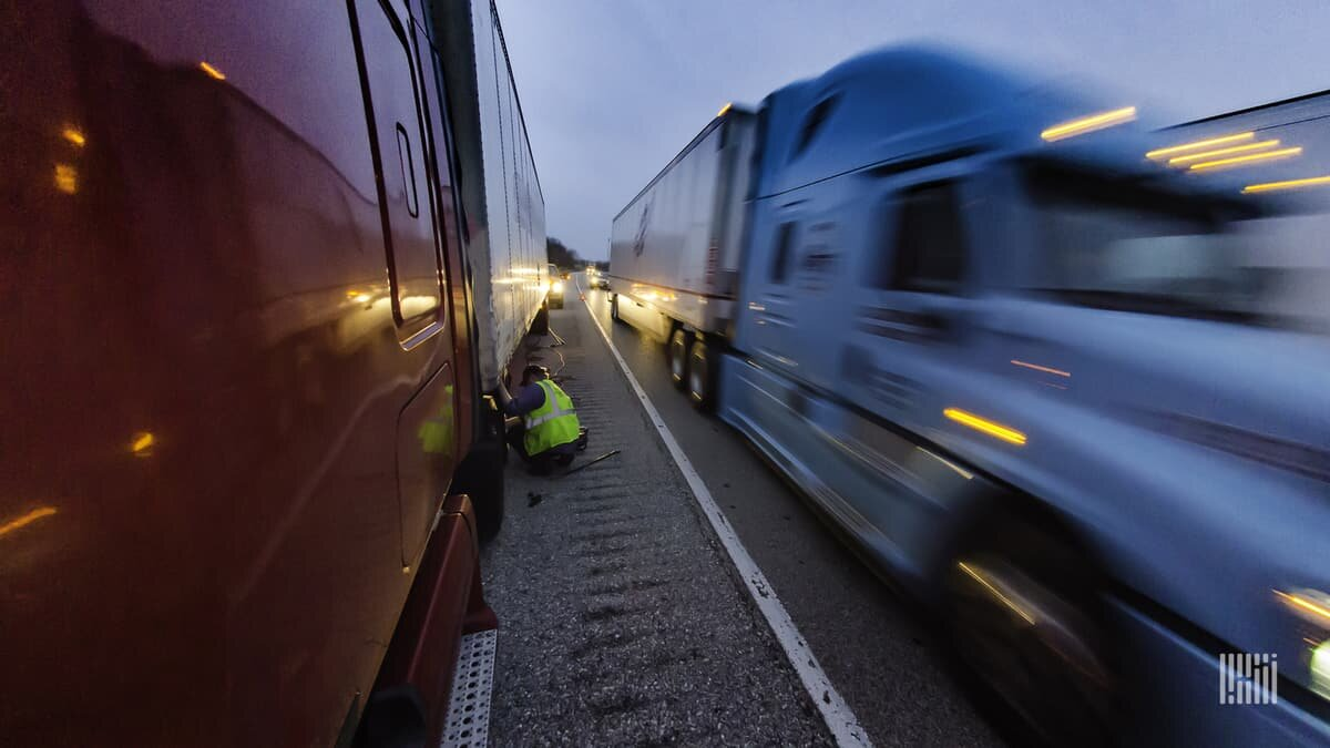 Fatalities involving truck or bus crashes have increased 11%. Credit: Jim Allen/FreightWaves