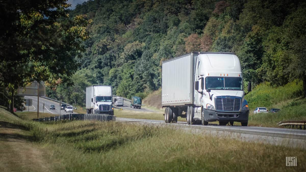 Many indicators are pointing to a better 2020 than 2019 for the freight industry, but several challenges remain, including impacts from the coronavirus. (Photo: Jim Allen/FreightWaves)