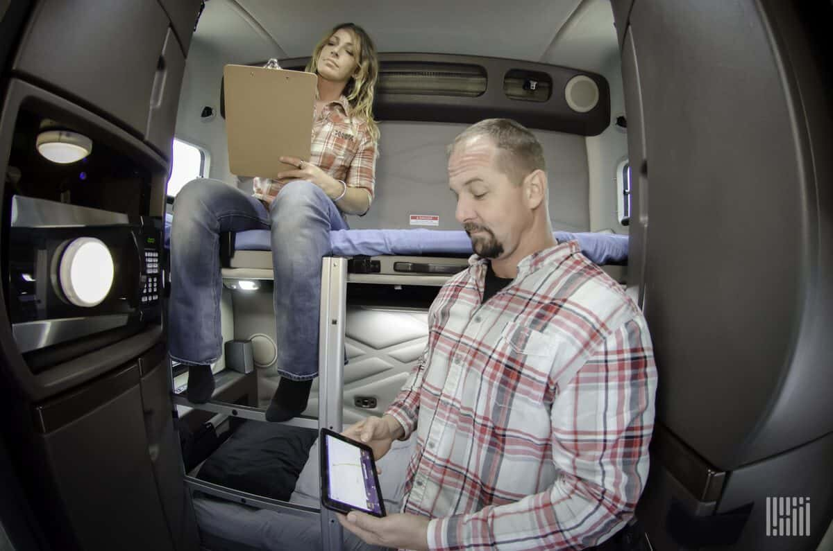 Truck drivers that develop symptoms of COVID-19 face few options, although fleets and medical clinics are working to find ways to offer help. (Photo: Jim Allen/FreightWaves)
