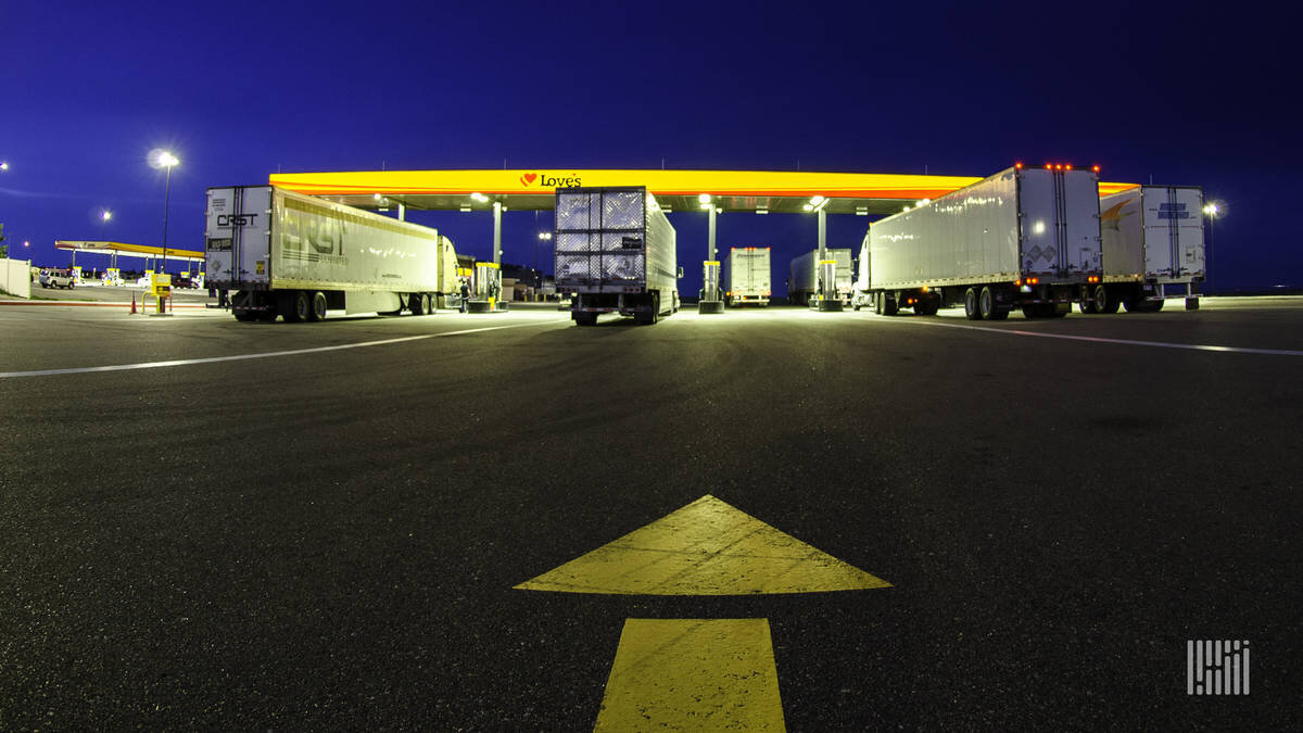 Some communities welcome trucking facilities, and others do not, which makes the expansion efforts of Love's Travel Stops and Old Dominion Freight Lines cases studies to watch. (Photo: Jim Allen/FreightWaves)