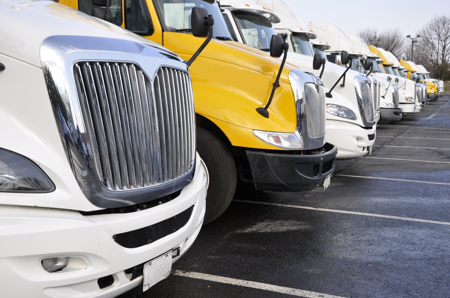As the nation added jobs in May, the trucking sector saw a decline in employment. (Photo: Shutterstock)
